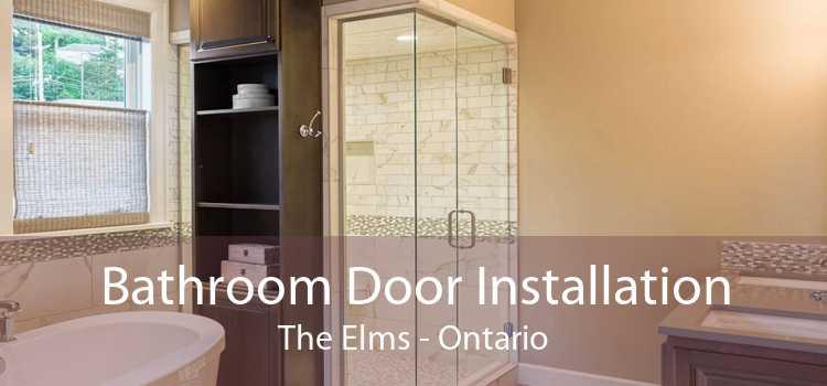 Bathroom Door Installation The Elms - Ontario