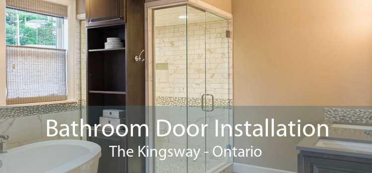 Bathroom Door Installation The Kingsway - Ontario