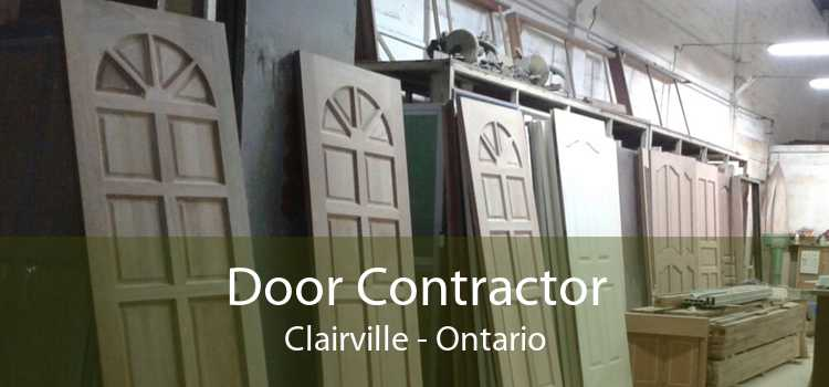 Door Contractor Clairville - Ontario
