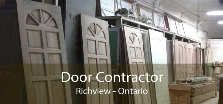 Door Contractor Richview - Ontario