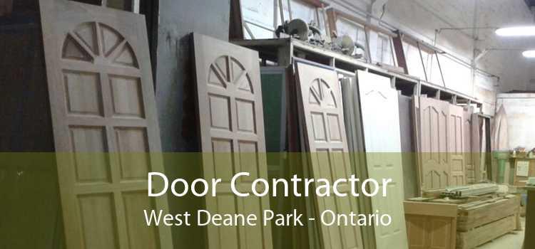 Door Contractor West Deane Park - Ontario