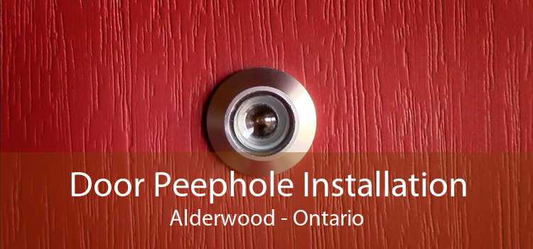 Door Peephole Installation Alderwood - Ontario