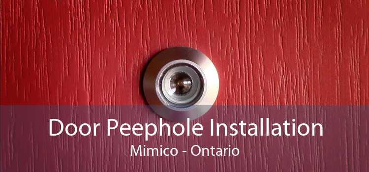 Door Peephole Installation Mimico - Ontario