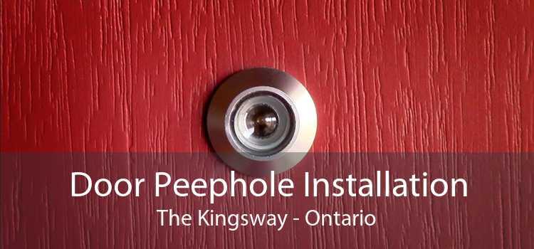 Door Peephole Installation The Kingsway - Ontario