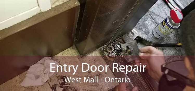 Entry Door Repair West Mall - Ontario