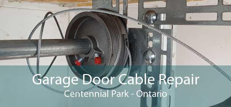 Garage Door Cable Repair Centennial Park - Ontario