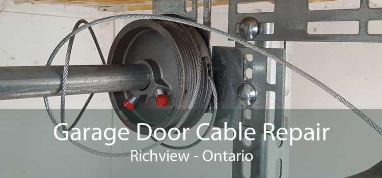 Garage Door Cable Repair Richview - Ontario