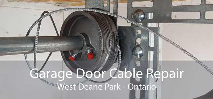 Garage Door Cable Repair West Deane Park - Ontario