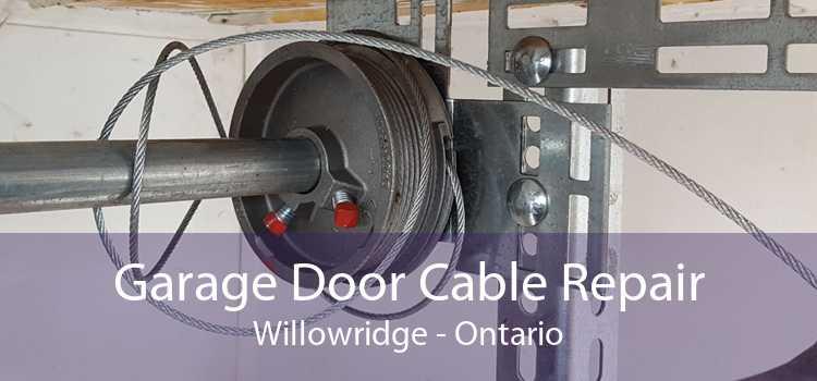 Garage Door Cable Repair Willowridge - Ontario
