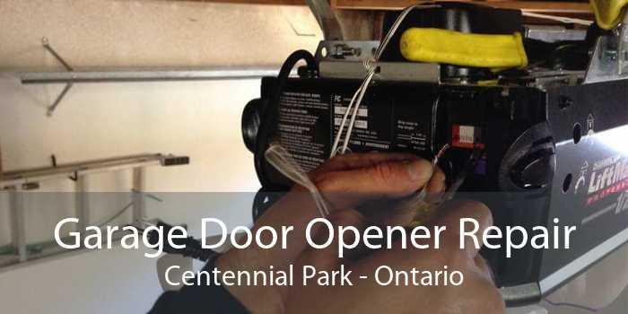 Garage Door Opener Repair Centennial Park - Ontario