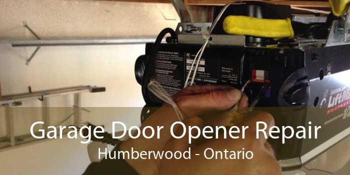 Garage Door Opener Repair Humberwood - Ontario