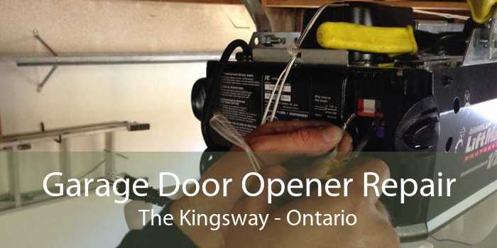 Garage Door Opener Repair The Kingsway - Ontario