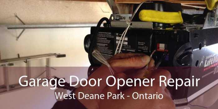 Garage Door Opener Repair West Deane Park - Ontario