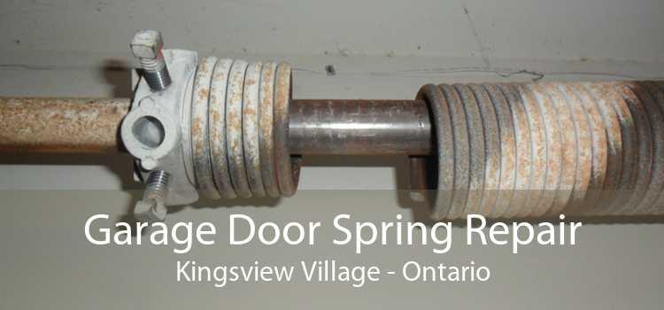 Garage Door Spring Repair Kingsview Village - Ontario
