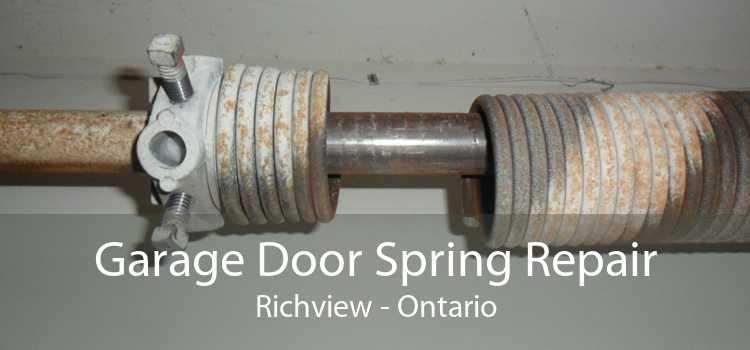 Garage Door Spring Repair Richview - Ontario