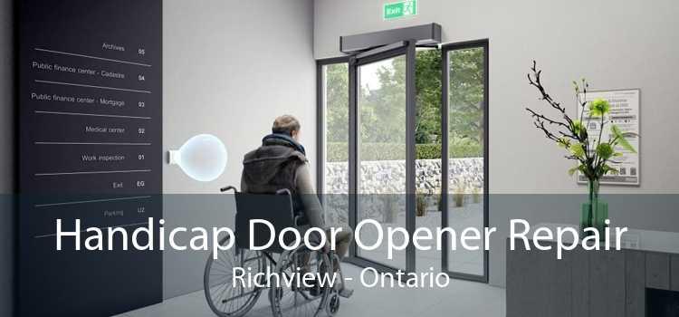 Handicap Door Opener Repair Richview - Ontario