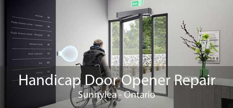 Handicap Door Opener Repair Sunnylea - Ontario