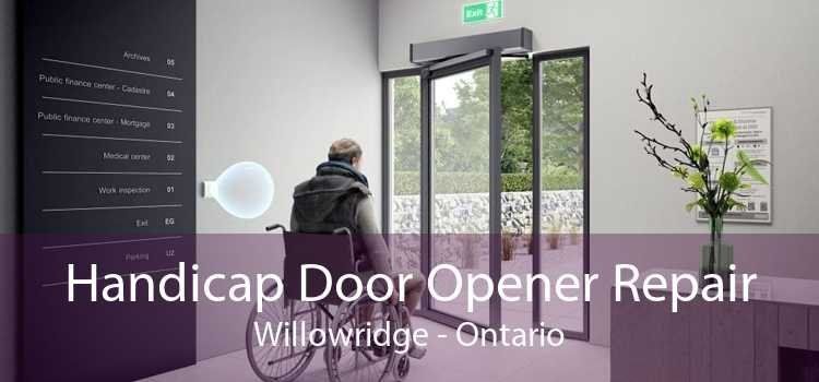 Handicap Door Opener Repair Willowridge - Ontario