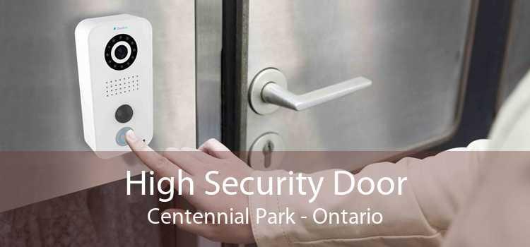 High Security Door Centennial Park - Ontario