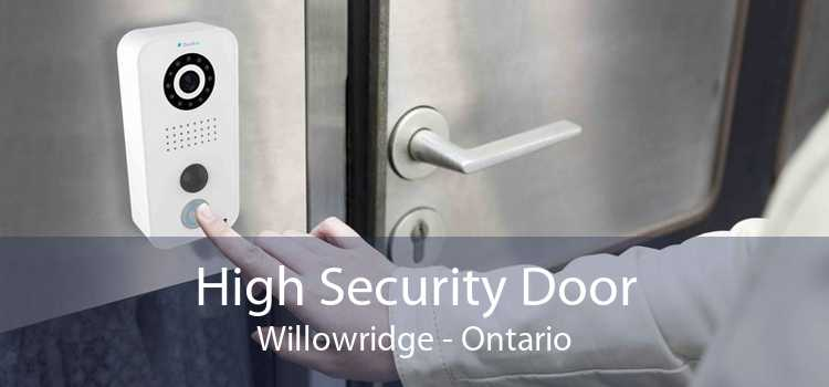 High Security Door Willowridge - Ontario