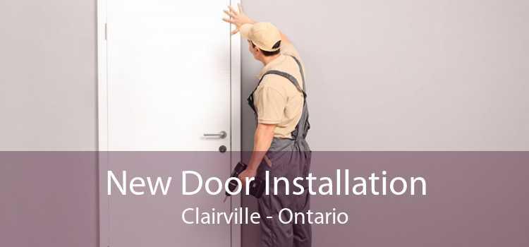 New Door Installation Clairville - Ontario
