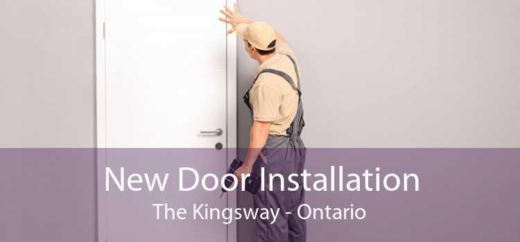 New Door Installation The Kingsway - Ontario