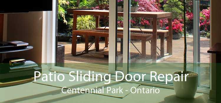 Patio Sliding Door Repair Centennial Park - Ontario