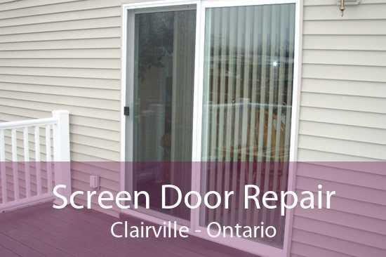 Screen Door Repair Clairville - Ontario