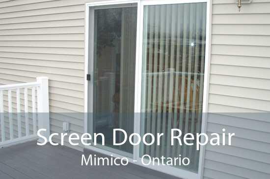 Screen Door Repair Mimico - Ontario