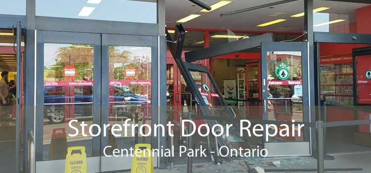 Storefront Door Repair Centennial Park - Ontario