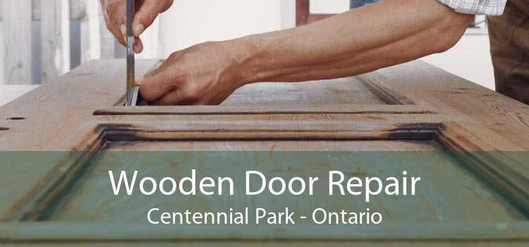 Wooden Door Repair Centennial Park - Ontario