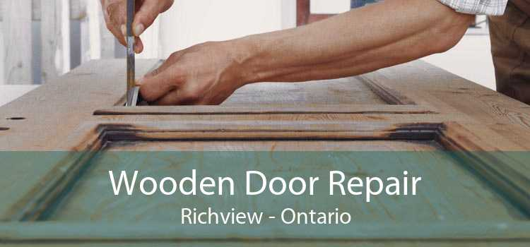 Wooden Door Repair Richview - Ontario