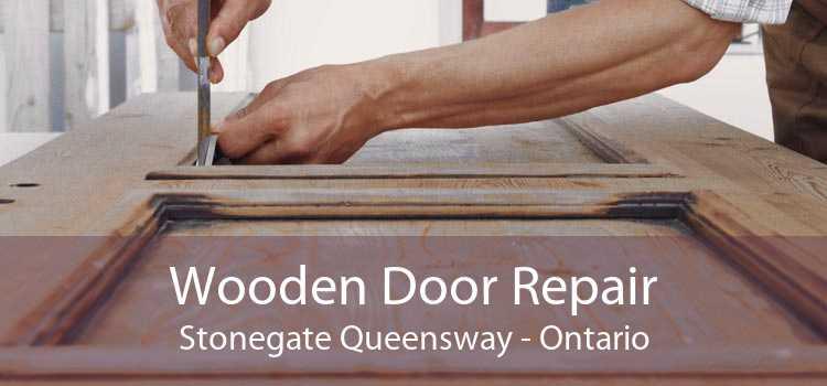 Wooden Door Repair Stonegate Queensway - Ontario