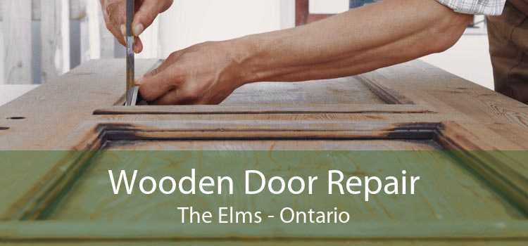 Wooden Door Repair The Elms - Ontario